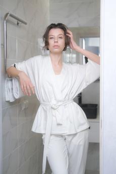 Белое кимоно Home Vim Win