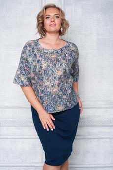 Костюм: юбка и блуза Angela Ricci