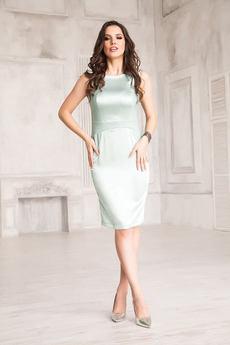 Платье фисташкового цвета Angela Ricci