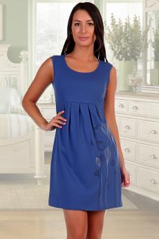 Платье цвета индиго Натали